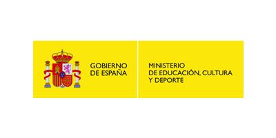 Logo Ministerio de educación, cultura y deporte